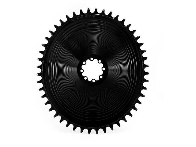 Garbaruk Aero Chainring Oval for SRAM AXS Road/CX, zwart